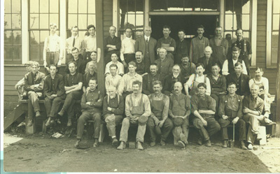 Large group of Ober Employees